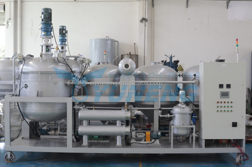 Used Crude Oil Engine Oil Recycling Machine for Sale
