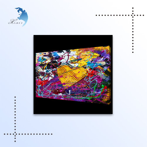 Modern Abstract Flower Decorative Oil Painting,Home Decorating Living Room Wall Paintings, Abstract Pictures