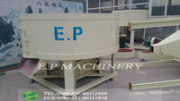 charcoal powder mixer/ wheel mixing machine for charcoal briquette line