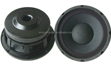 Professional 8 ohm RMS 300w 10 inch flat subwoofer