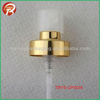 20MM crimp pump for perfume glass bottle TBYS-CP003A