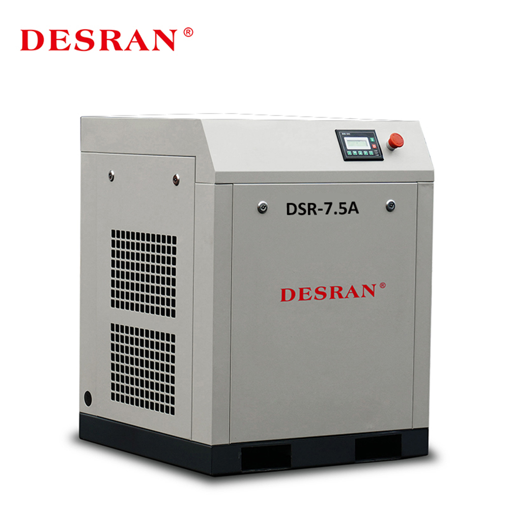 5.5KW/7.5HP Rechargeable Rotary Screw Belt Driven Air Compressor