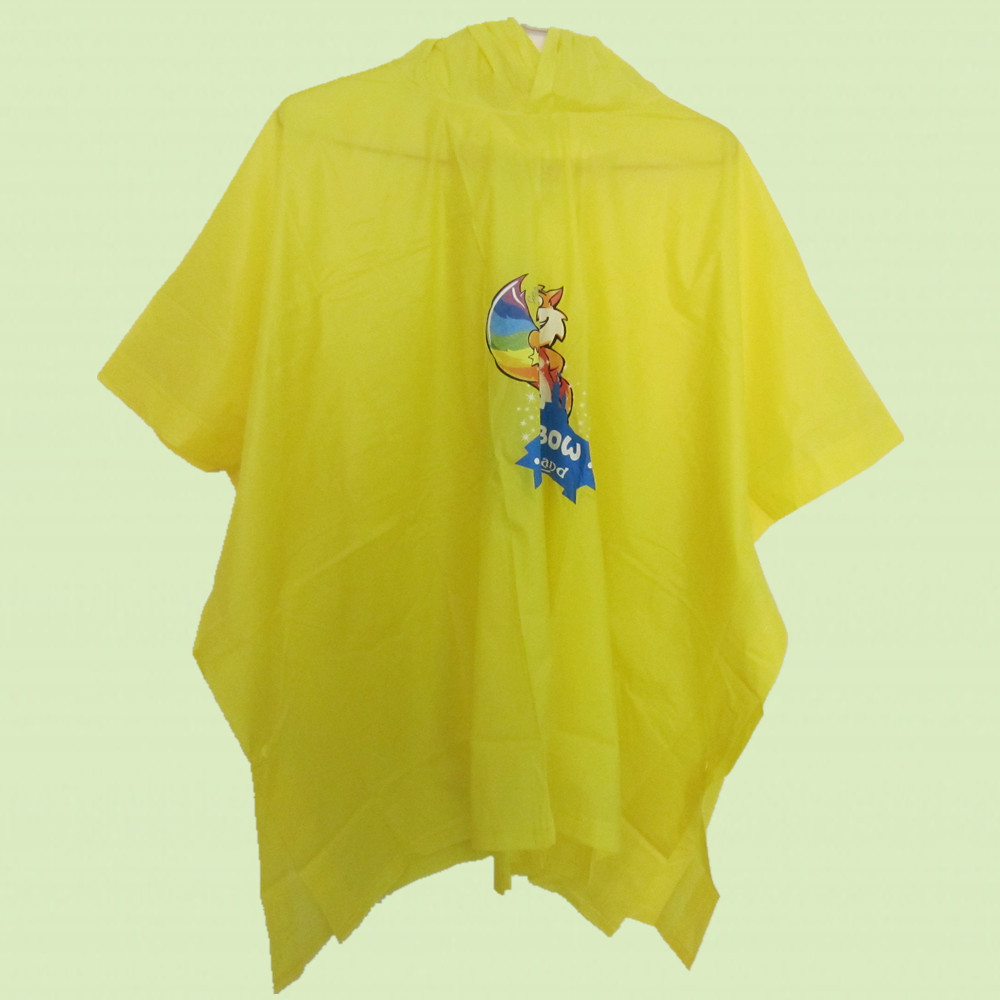 PVC/EVA/PEVA waterproof rain coat/reusable rain poncho