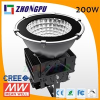 Warehouse LED High Bay Light 150W 200W Parking Lots Light COB LED Highbay