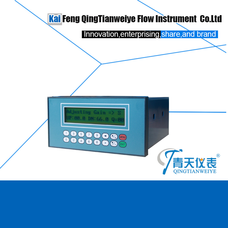 water manage panel mounted ultrasonic flow meter