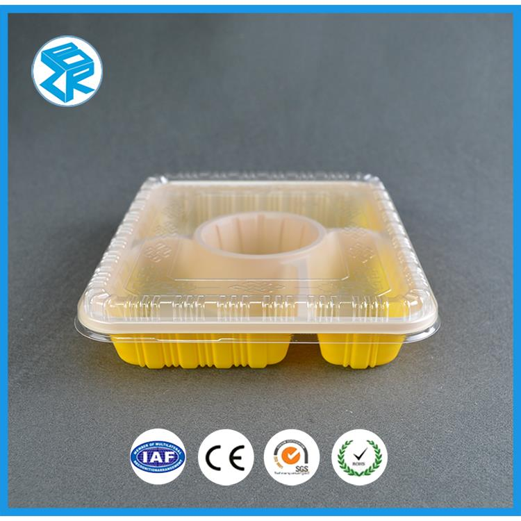 SZ-402 disposable food box packs forzen packaging mess tin pp boxes bento container