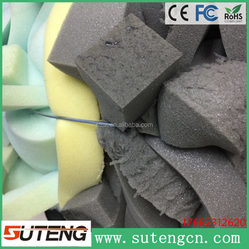 factory price mixed colored furniture foam scrap less skins good elasticity