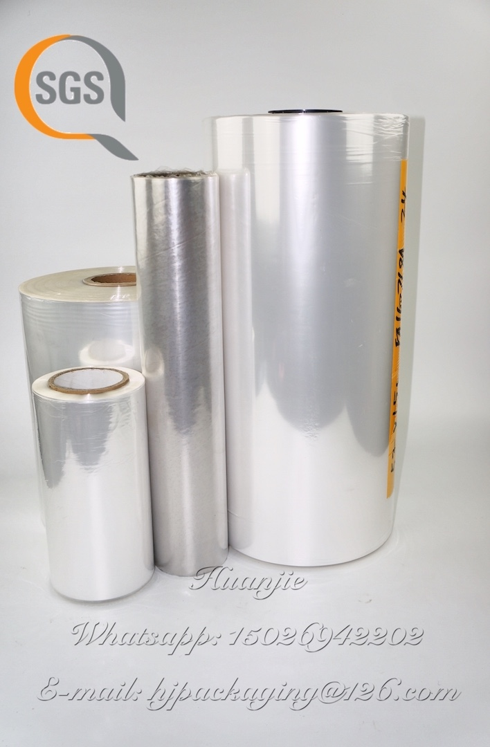 Polyolefin film / POF shrink film for milk pack , drinks, milk