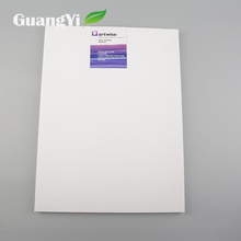 Factory supplier home decor customized size pure white canvas for printing