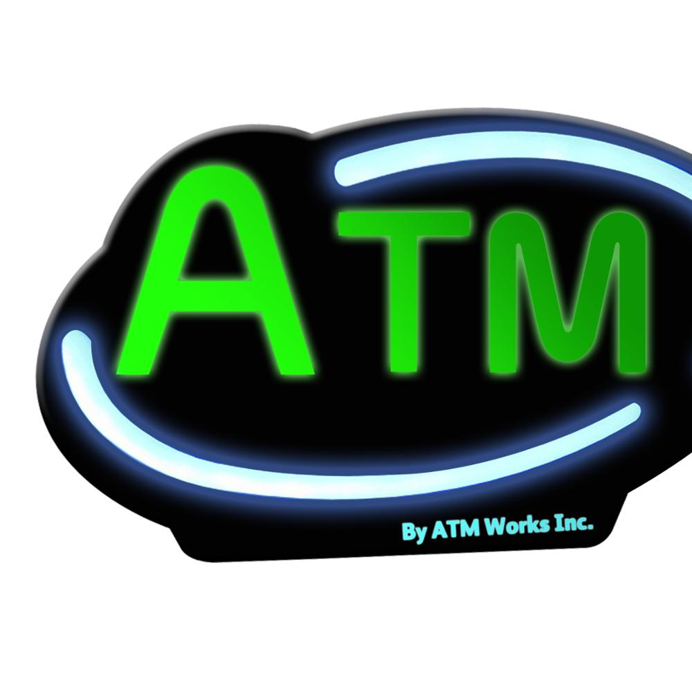 Vaccum Forming Backlit Flash Atm Led <strong>Sign</strong>