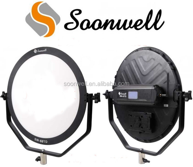 CRI95 3000-5600K Dimmable Slim Photo Studio LED Soft Light Panel 68W Video Photography LED Light