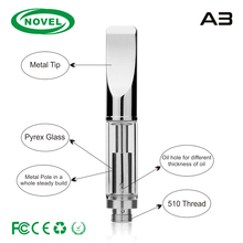 Slim Vape pen .5ml vape Cartridge 510 thread Vaporizer Pen cbd oil cartridge Cutsom Logo