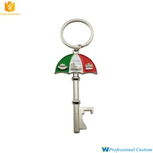 Wholesale Custom Cheap 3D Metal Beer Bottle Opener Keychain