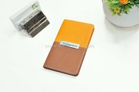 Pocket PU cover notebook