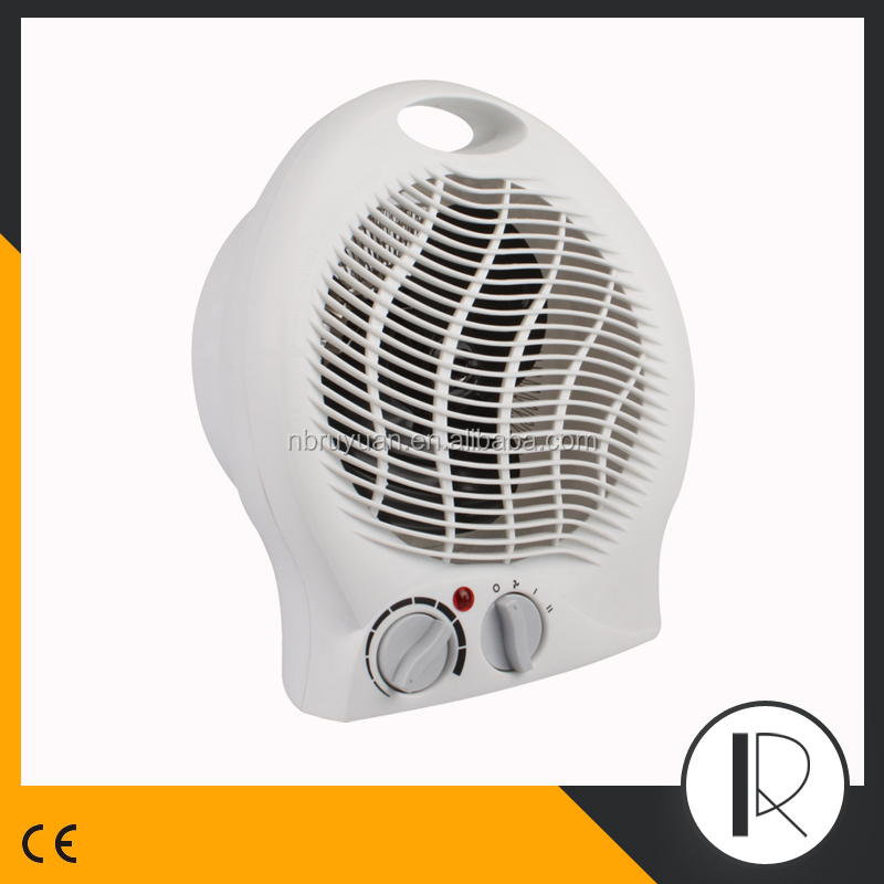 2016 hot sale 220V Portable Home Fan Heater with tip-off switch