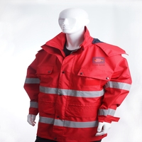 high visibility poly-cotton outdoor emergency resuce clothing