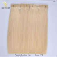 2015 Long Lasting Wholesale High Quality No Chemical Process 200g light strawberry blonde weaves 24