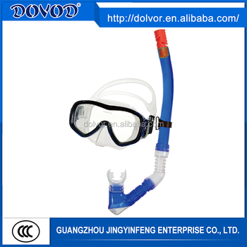 Diving & swimming use diving equipment adult diving mask and snorkel set
