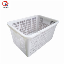 Food grade HDPE plastic collapsing folding storage crate