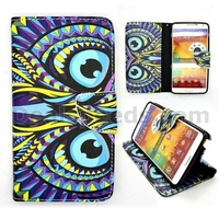 Wallet Style Magnetic Flip Stand TPU+PU Leather Case for Samsung Galaxy Note 3 N9000 N9002 N9005 N9008