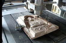 4 axis 5 axis cnc wood router for 3D Buddha