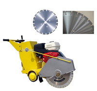 Gasoline engine diesel engine concrete road cutting machine/road cutter price