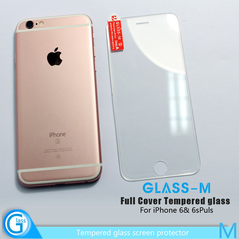 100% No Gap 3D Silicon Edge Full Cover Protective Film for iPhone 6s