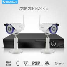 p2p wifi wireless ip camera kit nvr with bullet camera ip