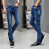 2016 wholesale no brand jeans fancy pants and jeans men