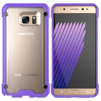China Factory Fancy Cell Phone Case For Samsung Galaxy Note 7 Hybrid Case
