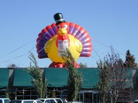 advertising inflatable animal inflatable turkey decorations for sale