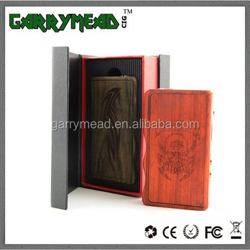 Garry Mead Dhgate tesla e-cigarette tesla 120w metal mod and tesla 120W wood mod El diablo
