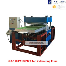 200T Rubber Tile Making Machine and Rubber Floor Tile Vulcanizing Machine With Mold