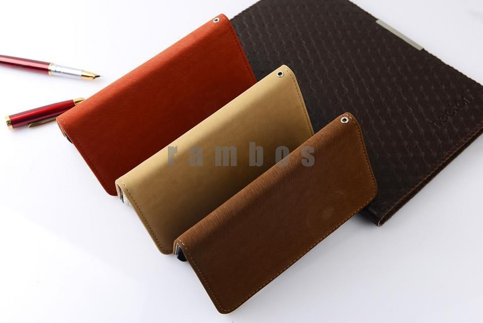 Cell Phone Cover Flip Stand Wallet PU Leather Case for LG L3 L5 L7 L9 P970 E960 P990 E975 E980 Nexus 5