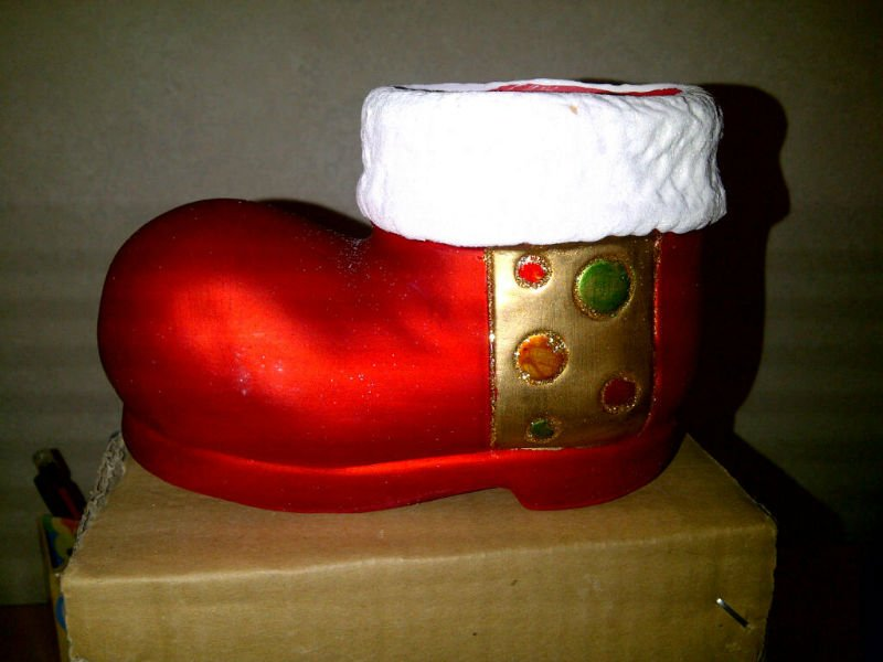 Ceramic Christmas Boot
