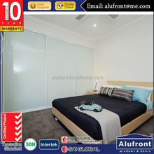 Australia standard as2047 aluminum double glass office doors for commercial building