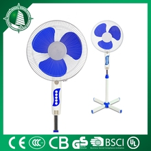 50W hot selling best quality metal blade 16 inch floor stand fan copper motor with fuse