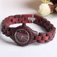 Violet Small Dial Ladies Wooden Watches Wholesale With Japan Movt