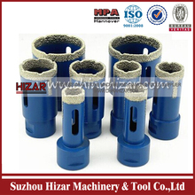 Long Life-Span Hizar Vaccum Brazed Core Drill
