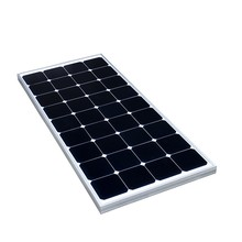 China manufacture 50W flexible solar panle monocrystalline silicon solar panel