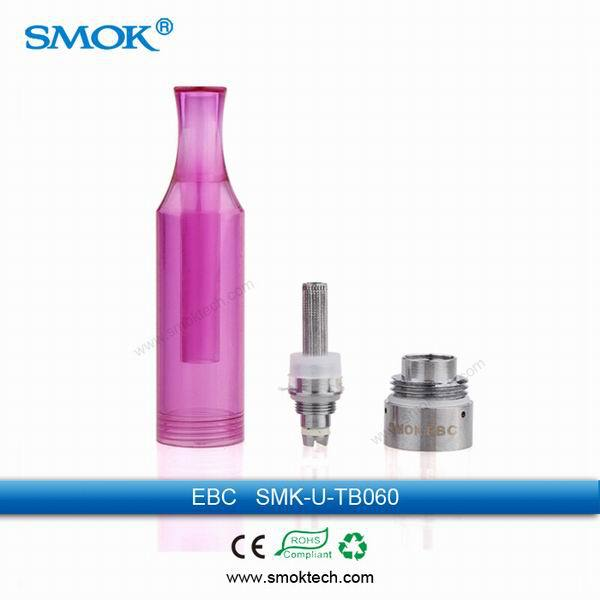 china wholesale market good quality bottom coil heating smok EBC clearomizer with cheap price