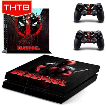 Wholesale Deadpool vinyl decal for ps4 sony playstation 4 skin sticker