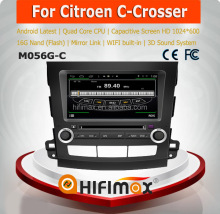 HIFIMAX Android 4.4.4 Citroen C-Crosser car stereo with gps navigation mp3 radio cd player car dvd player for Citroen C-Crosser