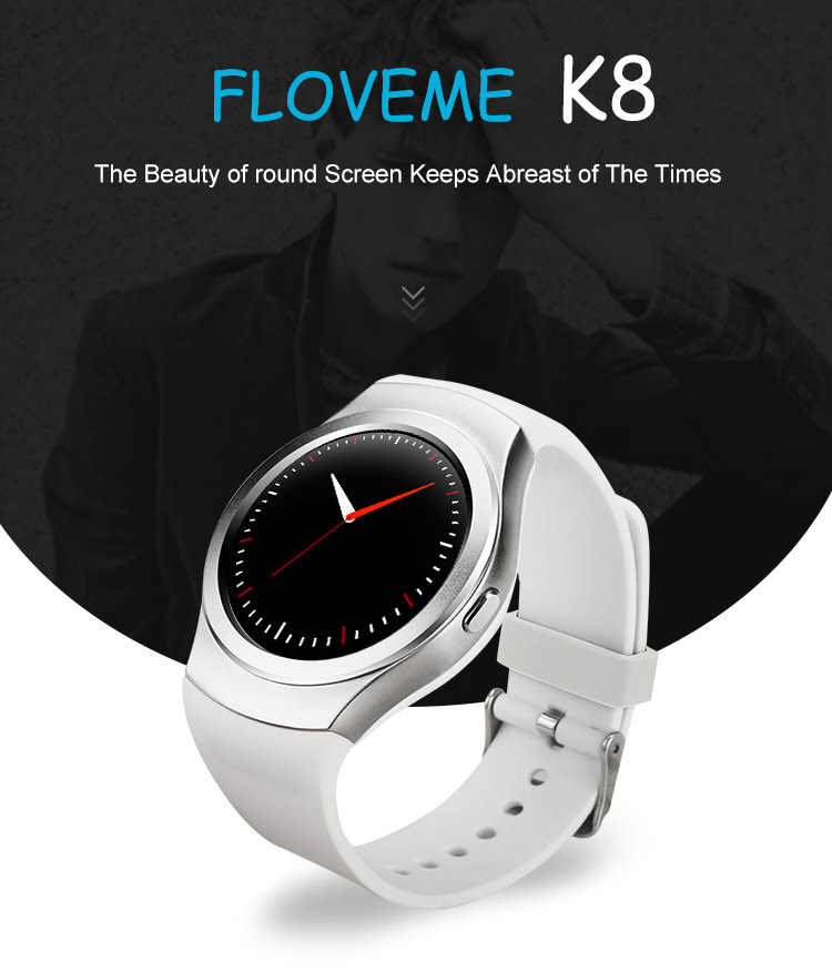 2017 newest sport watch android Smart Watch K8 SIM Card Mobile Phone for iphone