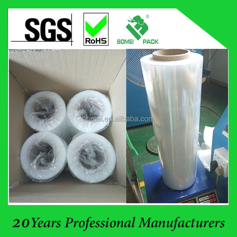 Transparent Manual LLDPE Stretch film Machine Pallet Wrap