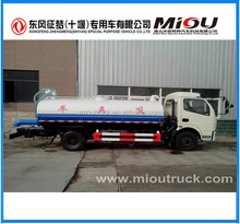 Widely used waste water suction truck New vacuum pump Sewage tanker Septic water Tank Trucks For Sale