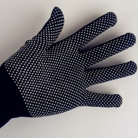 CE approved safety equipments dotted water resistant work gloves, mechanical work gloves