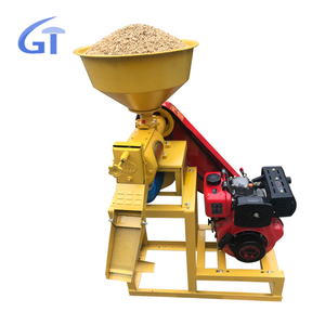 300-400kg/h high capacity new diesel engine automatic mini rice milling machine price rice mill plant for sale