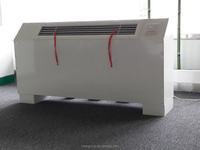 Hot products! High quality and efficiency cooling and heating floor standing fan coil unit for central air conditioner