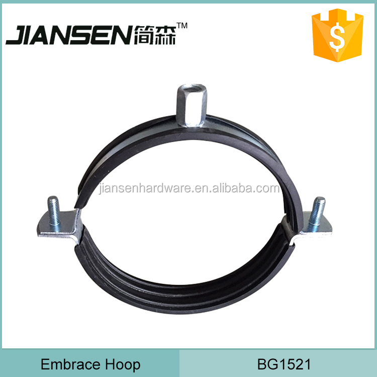 Cheap Galvanized Metal pipe clamp for greenhouse